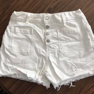 Madewell high rise shorts